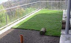Infiltrazioni giardino pensile, ricerca perdita acqua tetto